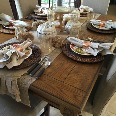 Fall/Autumn Decor & Tablescape