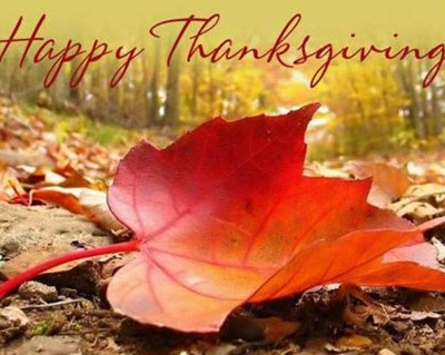 Happy Thanksgiving To All….
