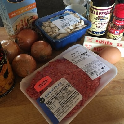 Quick Fix With Ground Beef ….