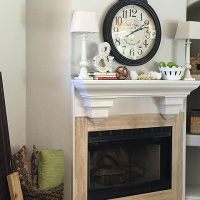 Peace of Mind and Fireplace Reveal…