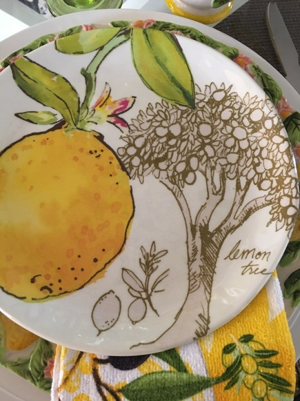 Summer lemon tablescape13