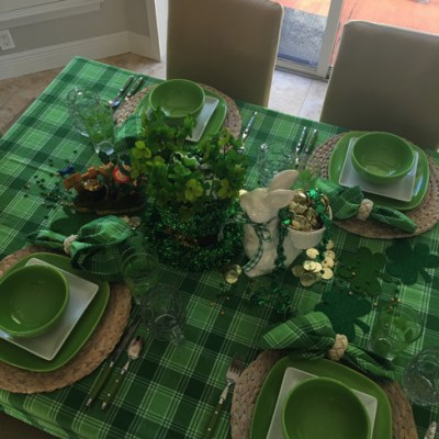 Shamrocks, St. Patrick's Day & A Pot O' Gold