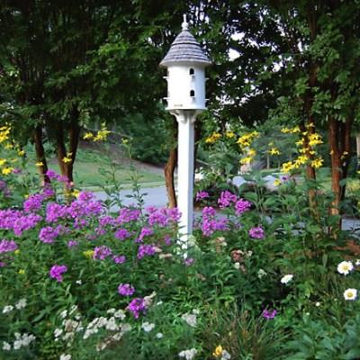 Romance In The Secret Garden…..A Nostalgic Dovecote!