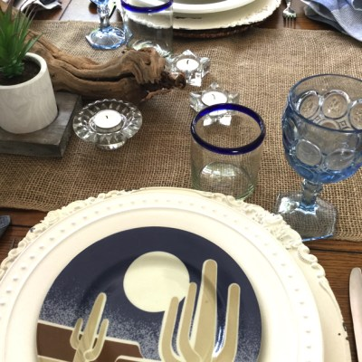 Southwest Tablescape, Land of Enchantment, New Mexico!