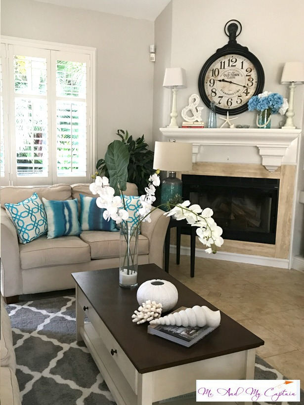 Coastal Living in the Living Room