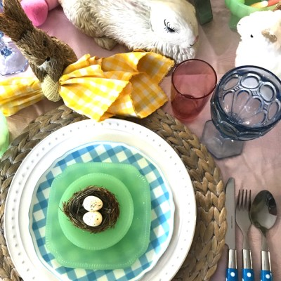 Easter gingham