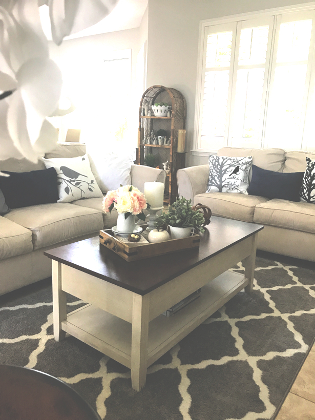 Living room March 2018