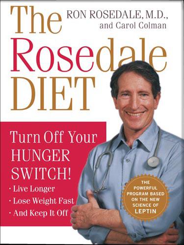 Rosedale דיאט עטיפת הספר