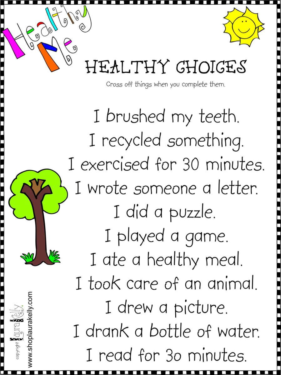 Healthy Me Fun Ways For Kids To Express Their Healthiness