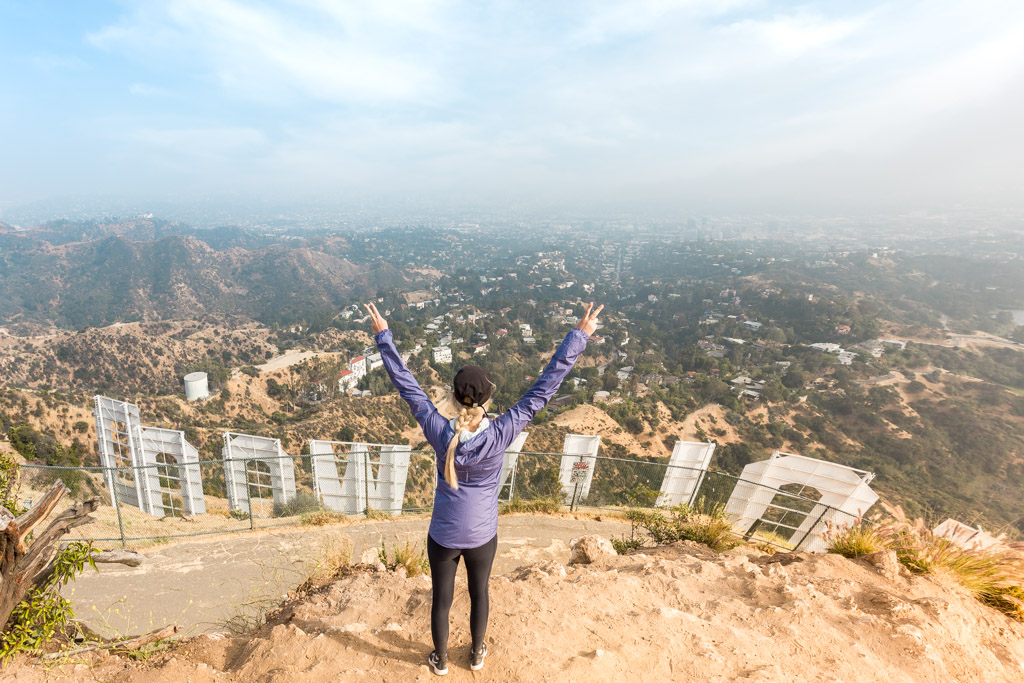 how to hike to the hollywood sign me my travel bugs