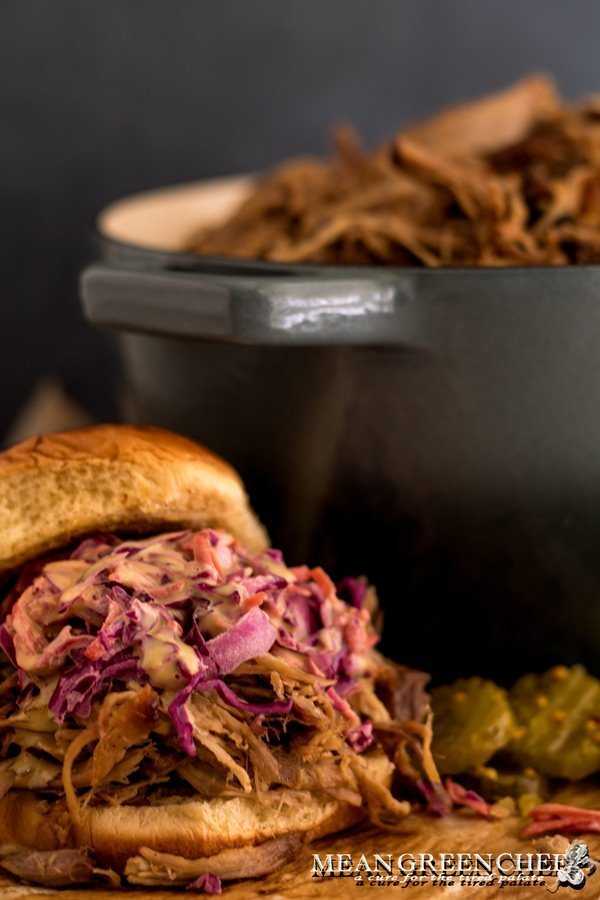 Red Cabbage and Carrot Slaw Recipe - Mean Green Chef