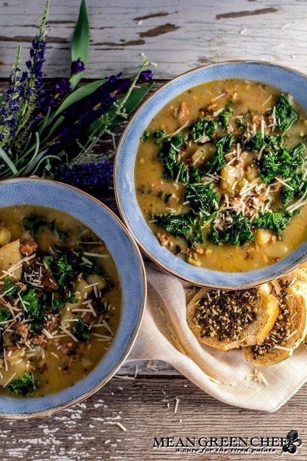 Zuppa Toscana Recipe - Mean Green Chef
