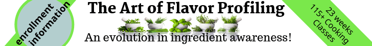 The Art of Flavor Profiling Mean Green Chef Cooking Course Great cooking is recognizing how to season and prepare dishes to amplify flavors to their fullest.