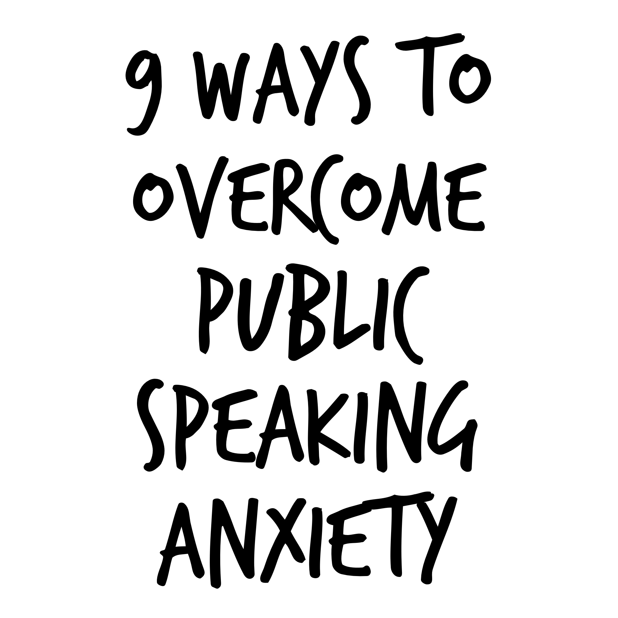 9 Tips To Overcome Public Speaking Anxiety