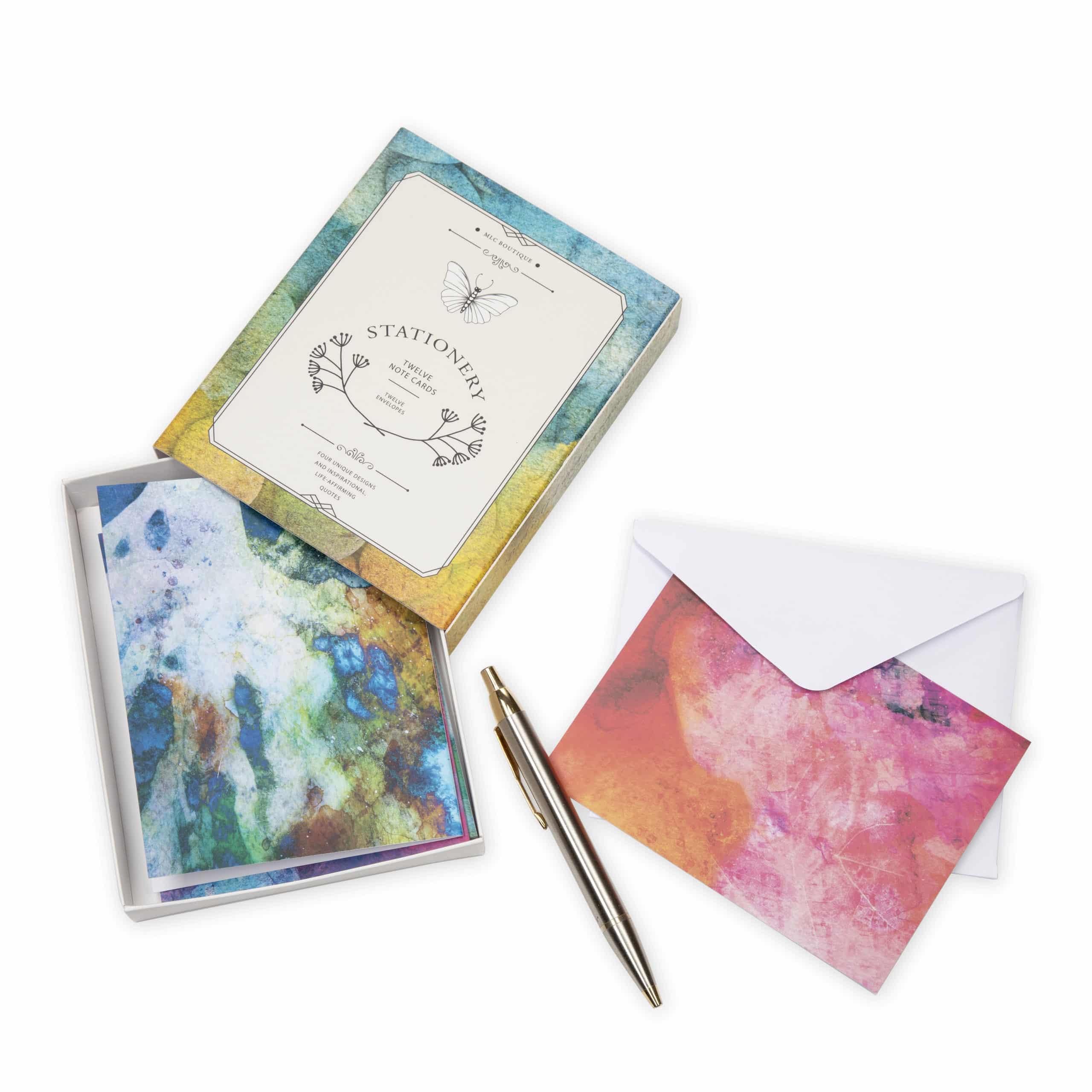 designer stationery gift set