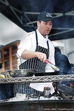 Chef Evans @ BBQ Showdown, Canyons Resort, Park City, Utah