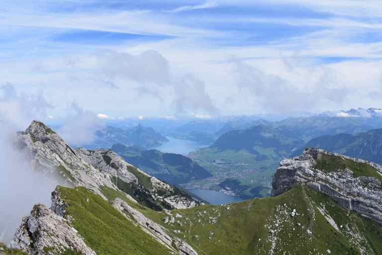 View from Tomlishorn