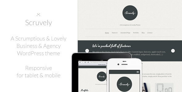 Scruvely Theme