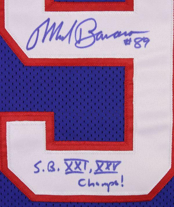 Lot Detail - 1990 Mark Bavaro York Giants Signed