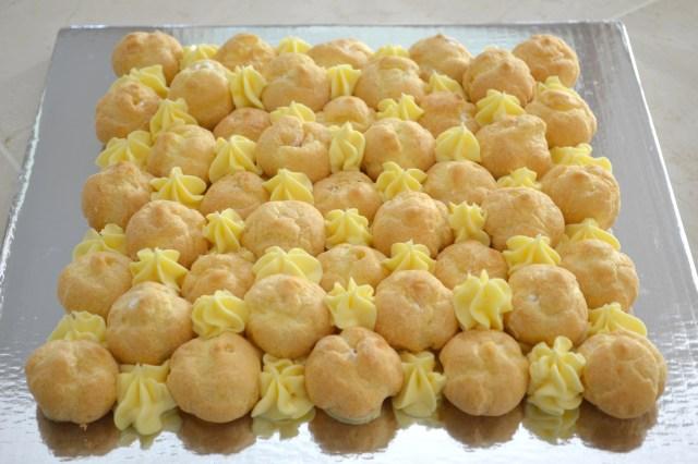 cream puff cake sans slab