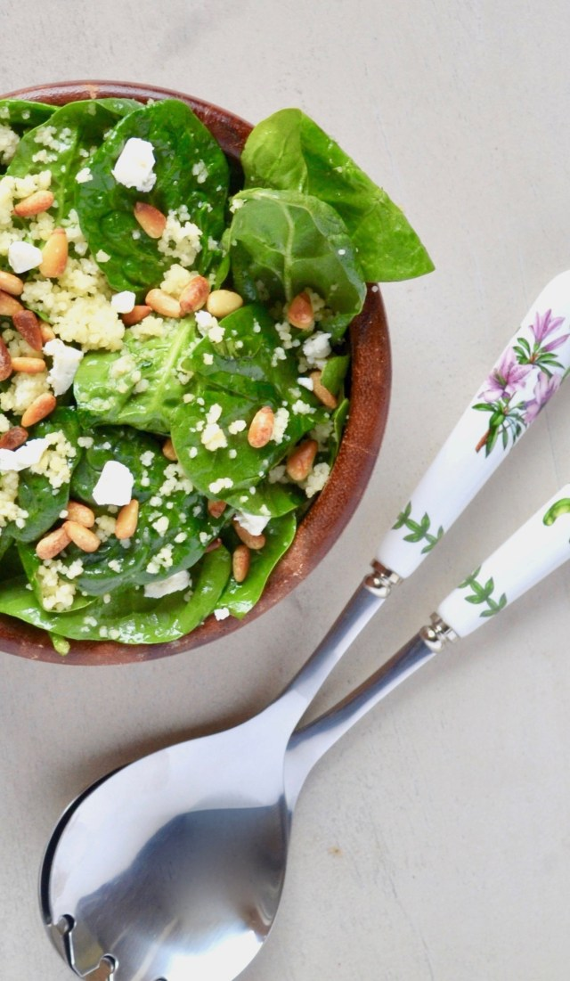 Spinach Couscous Salad