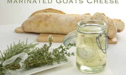 Marinated Goats Cheese