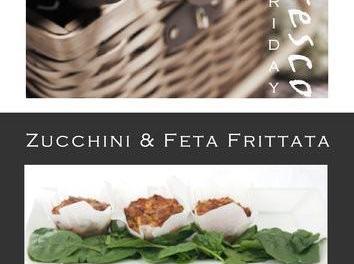 Alfresco Friday – Zucchini and Feta Frittata