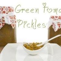 Green Tomato Pickles - Old Retro Recipe