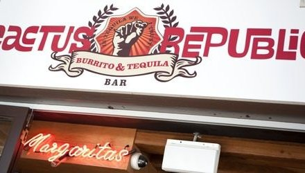 Cactus Republic Burrito & Tequila Bar – Southbank