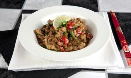 Kra Prao Gai – Thai Chicken Larb