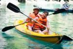 Kayaking at the Small Lagoon