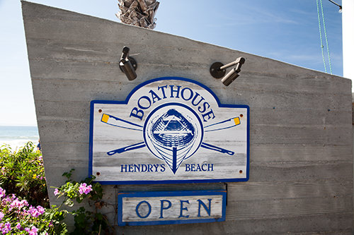 Brunch at Boathouse Hendry Beach California