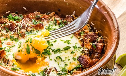 Spanish Baked Eggs – The perfect WARM Breakfast for these Chilly Mornings