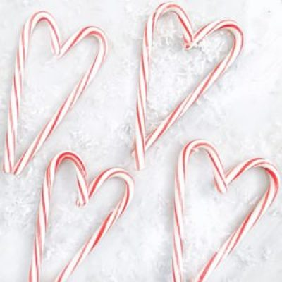 candy canes heart shape snow holiday songs