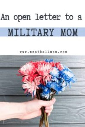 Dear Military Mom, I've been thinking about you. With The 4th of July approaching, a day we celebrate our great country and our freedom, I think about the courage of those serving in our military and how much I admire them. But do you know who else I admire? . . . YOU! As a mom with two children living a plane ride away from family. . . . . . #mom #militarymom #militarymoms #4thofjuly #july4 #usa #america #redwhiteandblue