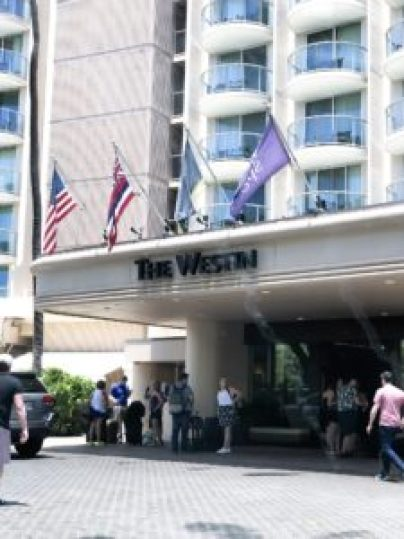 westin, maui hotel entrance