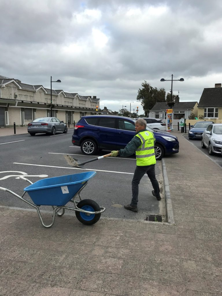 Bettystown Tidy Towns cleanup