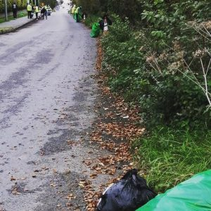 Bettystown tidy Towns Narroways Road litter picking