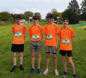 Jack, Aaron, Joe & Daniel u16 silver team