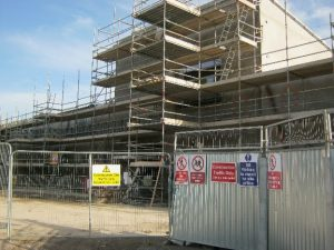 Whitecross National School construction