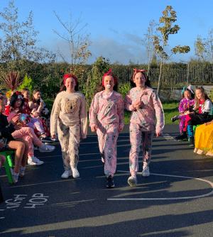 Halloween Art Doncarney Girls School outdoors costumes ten