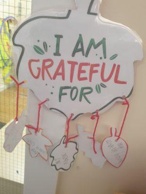 I am Grateful for...Scoil an Spioraid Naoimh