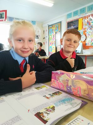 Whitecross National School pupils