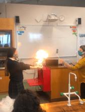 Science week experiments Loreto twp