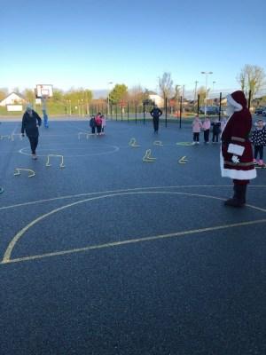 Donacarney Girls Santa visit