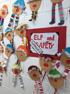 Donacarney Girls Christmas posters