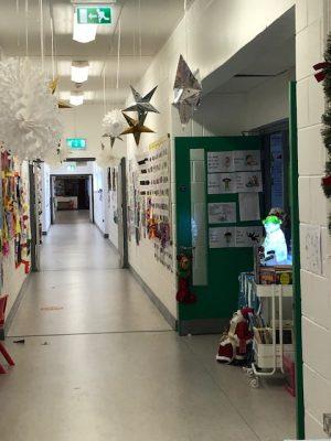 Donacarney Girls Christmas decorations