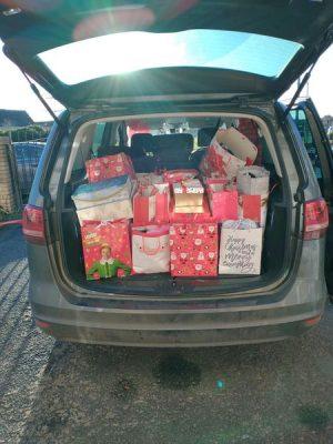 Gormanston nursing home christmas parcels
