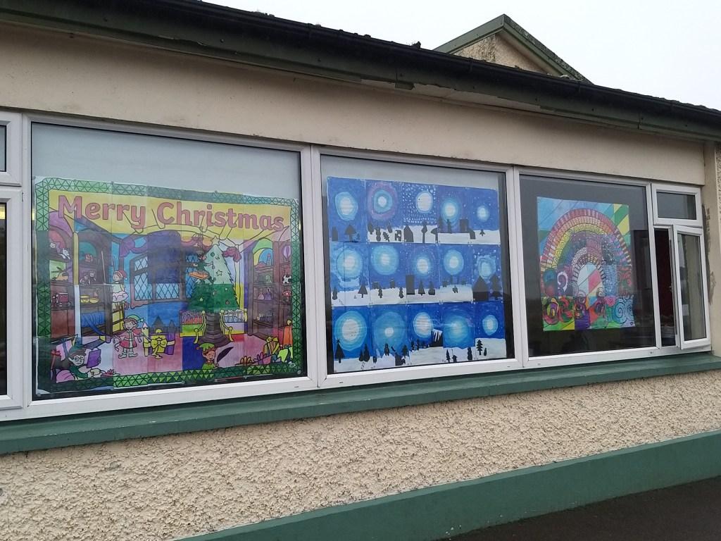 SSN Christmas windows 2