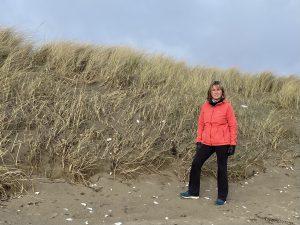 Dune erosion Cllr Sharon Tolan